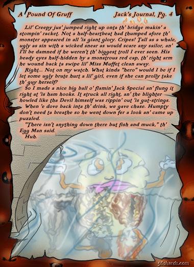 """A Pound Of Gruff"": Jack's Journal, Pg. 4"