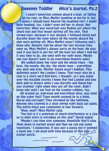 """Sweeney Toddler"" 5: Alice's Journal, Pg. 2"