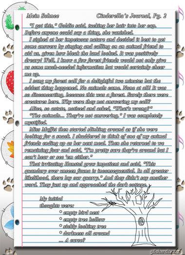 """""""Mein Schnee"""" 6: Cinderella's Journal, Pg.2"""