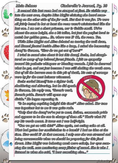 """""""Mein Schnee"""" 109: Cinderella's Journal, Pg.20"""