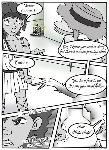 "Ch.4, Pg.13: ""Ducking The  Goose"""
