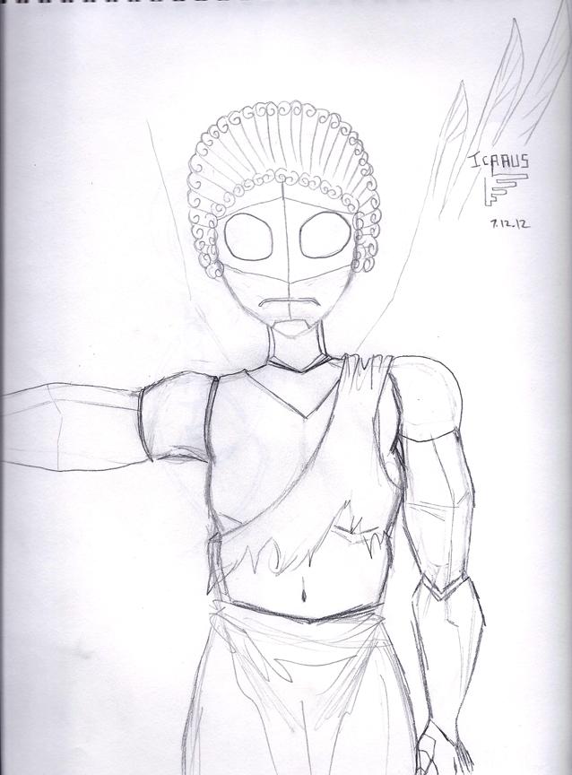 Icarus Sketch