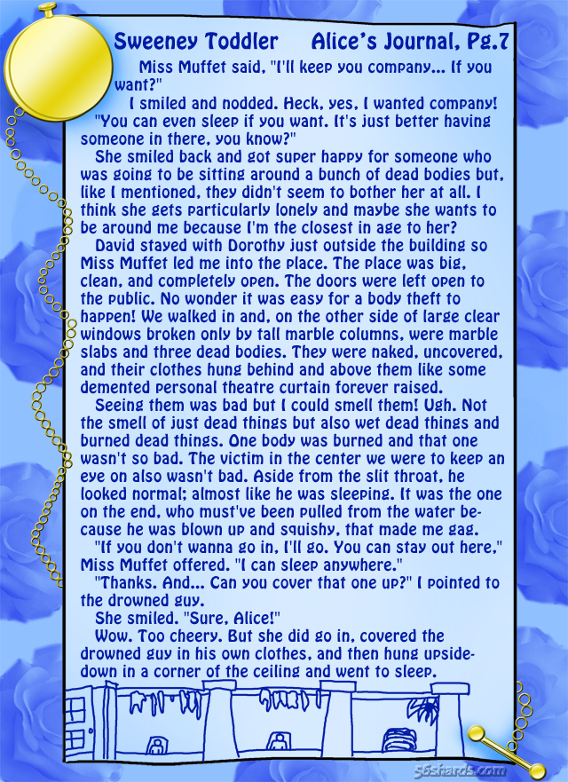 """Sweeney Toddler"" 21: Alice's Journal, Pg.7"