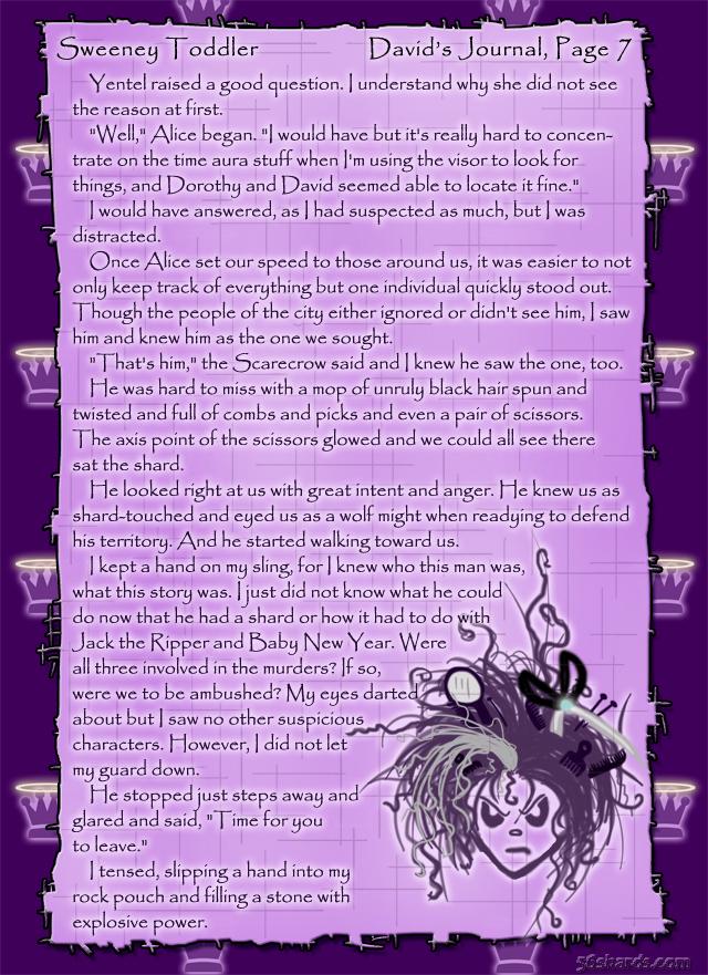 """Sweeney Toddler"" 31: David's Journal, Pg.7"