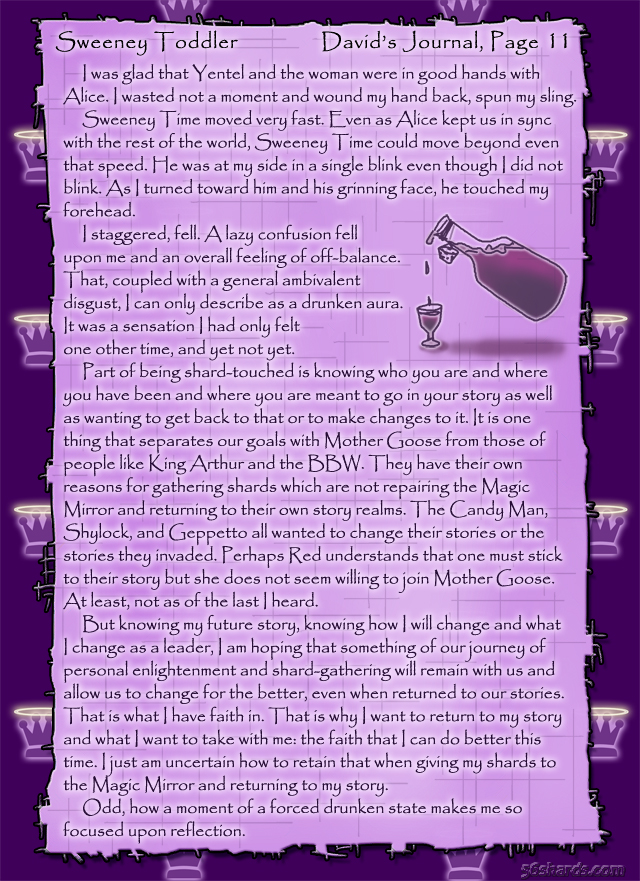 """Sweeney Toddler"" 45: David's Journal, Pg.11"