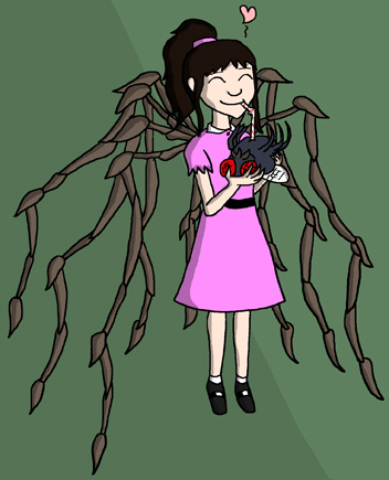 Miss Muffet by Dave (Selkie)