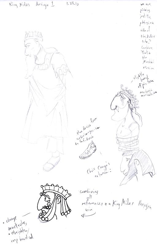 Midas Sketches