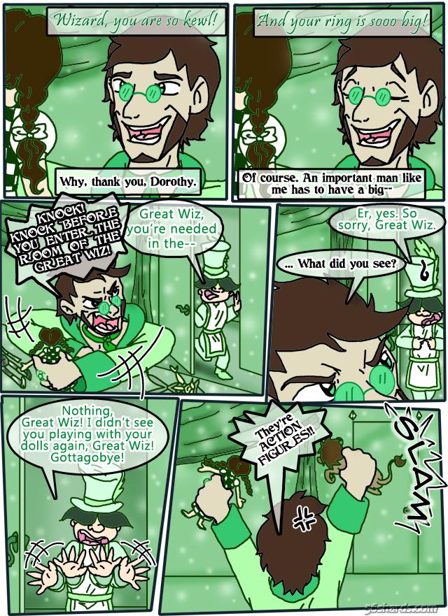 "St. Patrick's Day 2016 Strip: ""Green Indulgence"""