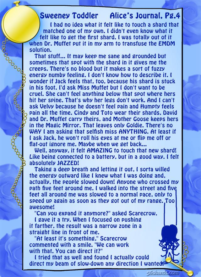 """Sweeney Toddler"" 12: Alice's Journal, Pg.4"
