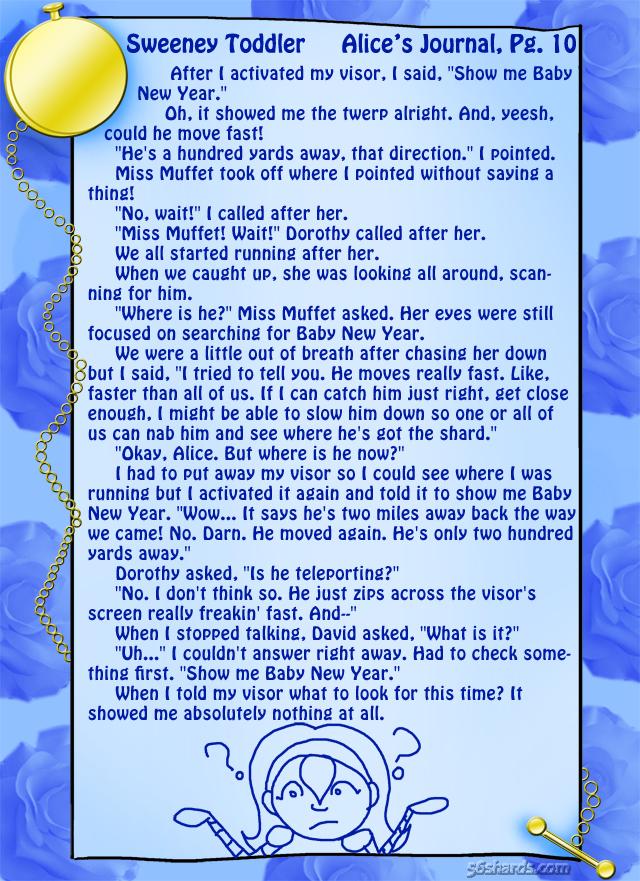 """Sweeney Toddler"" 27: Alice's Journal, Pg.10"