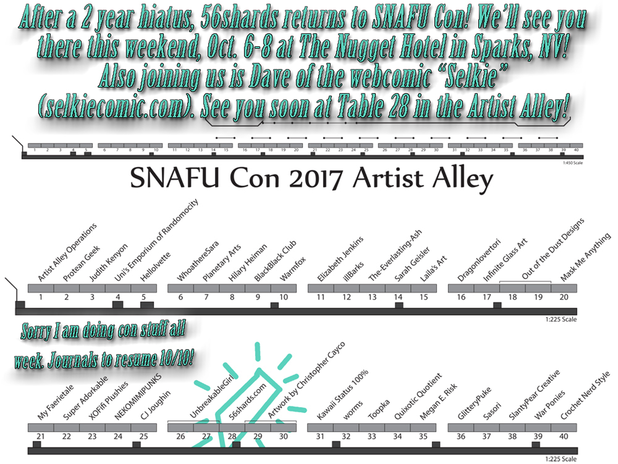 Con Prep 2017… And some promoting!