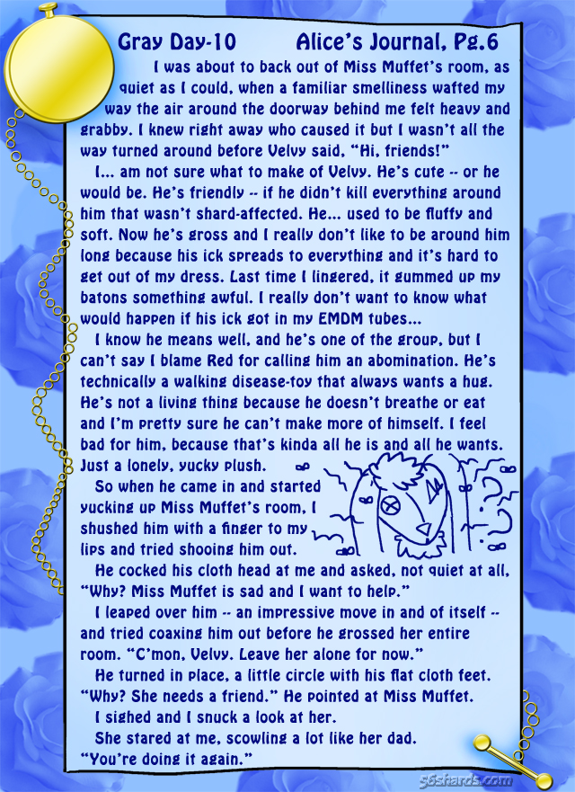 """Gray Day"" 10: Alice's Journal, Pg.6"